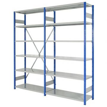 Expo 4 Steel Shelving